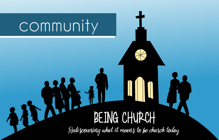 Being Church Background Text Community